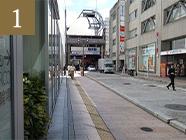 最寄り駅からのアクセス
